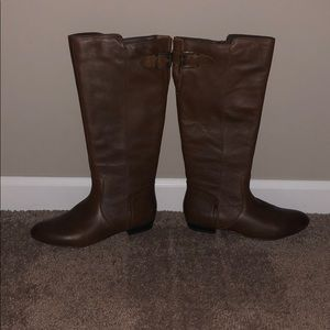Aldo brown riding boots size 6